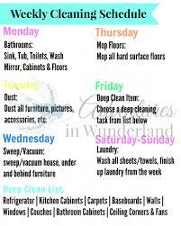 Weekly Household Chores Weekly Household Chores Barca Fontanacountryinn Com