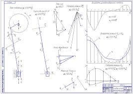 ТММ расчетные проекты Чертежи РУ Курсовой проект Проектирование и исследование самоходного шасси