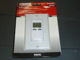 utilitech digital in wall timer 7 daily
