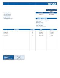 Get Free Invoice Template On Word Images