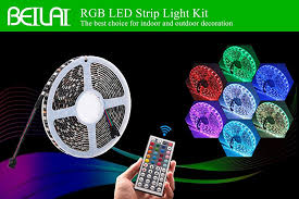 beilai led strip lights kit the best choice for indoor and outdoor decoration
