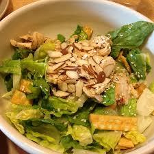panera asian chicken salad. Interesting Chicken Asian Sesame Chicken Salad Throughout Panera A