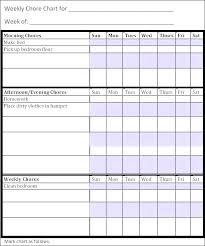 Chore Chart Templates Free Printable Kids Chores Template Chore Charts For Kids Chart Template