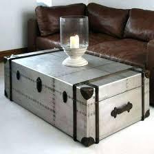 aluminum trunk coffee table aluminum trunk coffee table aluminum trunk coffee table images stunning aluminum aluminium