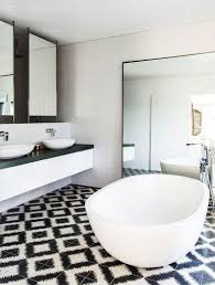 black and white bathroom tiles. Full Size Of Office Alluring Black White Bathroom Tile 3 Graceful 24 Cute And Decor Tiles O
