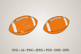 Included in this zip file are the following digital formats: 2 Football Heart Svg Designs Graphics