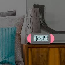 equity by la crosse 31112 mood light led alarm clock with nature sounds com
