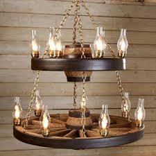 how to make wagon wheel chandelier vintage light fixture com best choice s patio garden wooden
