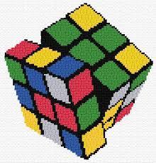 Rubik's Patterns Cool Rubik's Cube Ann's CrossStitch Patterns