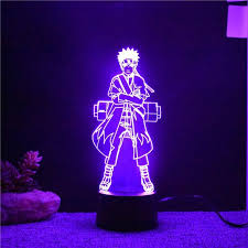 Color Changing <b>Naruto</b> 3D LED <b>light</b> | Night <b>light</b> kids, 3d led <b>light</b> ...
