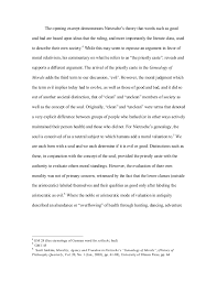 final essay on nietzsche final draft  3 the opening excerpt demonstrates nietzsche s