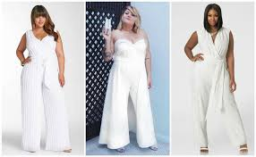 white jumpsuit plus size 45 of the most gorgeous plus size wedding dress for curvy bride