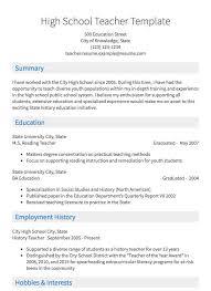 subsute teacher resume sles all