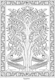 Creative Haven Trees Of Life Coloring Book 4 Sample Pages