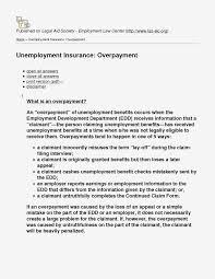 edd appeal letter sle infoupdate org
