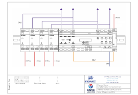Lighting Control Schematic Diagram Rapix Single Line Diagram And Drawings Rapix Dali