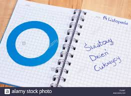 polish inscription world diabetes day in notebook and blue circle polish inscription world diabetes day in notebook and blue circle of paper symbol of diabetic