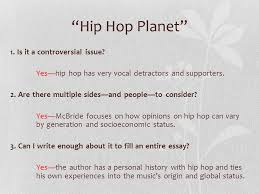 "or how to a topic and persuade your readers approaching the  3 ""hip hop"