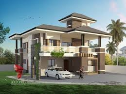 3d bungalow design 3d modern bungalow rendering elevation
