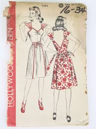1940s Dress Patterns Mesmerizing Vintage 48's Dress Patterns At RustyZipperCom Vintage Clothing