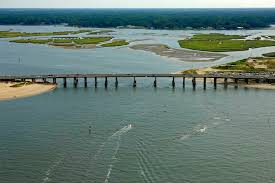 Lynnhaven Bay Inlet In Chesapeake Va United States Inlet
