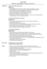 computer support technician resume pc support technician resume samples velvet jobs