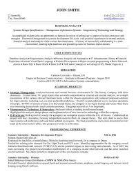 Sample Of Cv Business Analyst regarding Business Analyst Resume Samples 4122