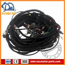 hitachi ex200 3 wiring harness 0001835 0001847 hitachi excavator hitachi ex200 3 wiring harness