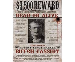 Buy Printable Wanted Poster Wild West Wanted Poster