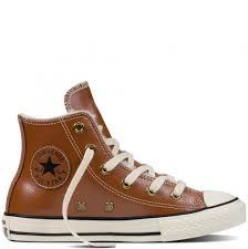 converse women s chuck taylor all star tennis shoes leather leather converse las men s shoes boot fur yth jr antique sepia parchment egret ing