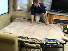 2013 Heartland RV Hide A Bed Air Mattress Product Video By Dick