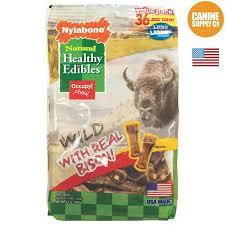 Nylabone Healthy Edibles Wild Chew Treat Bison Mini