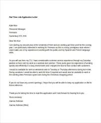 Application Letter Template 90 Free Application Letter Templates