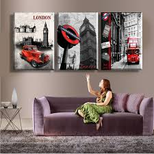 Small Picture Aliexpresscom Buy Canvas Print 3 Pieces Large Pictures London