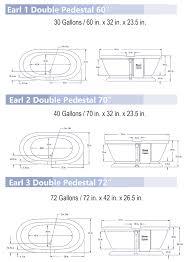 view detailed earl pedestal bathtub dimensions available as tub