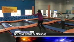 Sky Zone In Memphis Trampoline Park Not Just Fun For Kids