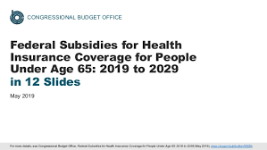 Office Coverage Federal Subsidies For Health Insurance Coverage For People
