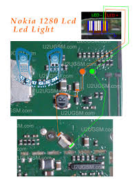 Nokia 1280 Light Ic Jumper Htc Mobile Support Nokia 1280 Led Lcd Light Solution
