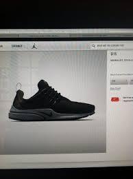 Nike Air Presto Sp Genealogy Size Xs 8 9 Air Presto Nike