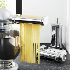 kitchenaid mixer attachments pasta. kitchenaid ® 3-piece pasta roller and cutter set kitchenaid mixer attachments .