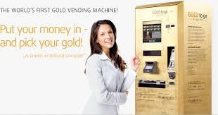 Gold To Go Vending Machine Gorgeous GOLD To Go™ Der Erste Goldautomat Der Welt