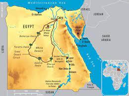 خريطة نهر النيل - ويكيات