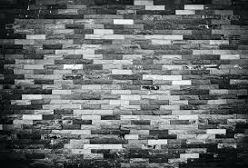 black and white brick wall texture of old grunge brick wall background black and white