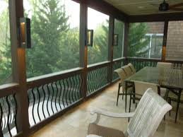 patio engaging porch decorating for screened furniture ideas basement outdoor shades covered back porch designs