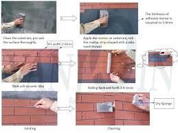 outdoor wall tile adhesive ideas bunnings