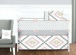 Dream Catcher Crib Set Boho Crib Bedding Baby Girl Crib Bedding Set In Blush Pink Navy 76