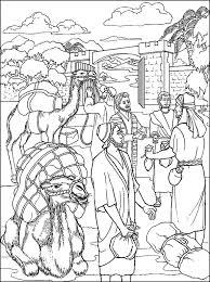 Gelijkenis Van De Talenten Kleurplaten Nieuwe Testament Bible