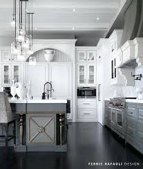 gray and white kitchen tags