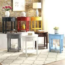 round end table with drawer round nightstand table complement your bedroom decor with this classic wooden round end table with drawer