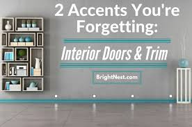 paint interior doorsBrightNest  Two Accents Youre Forgetting Interior Doors and Trim